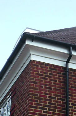 Unfinished Exterior Cornice